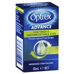 Optrex Advance Preservative Free Tired Eye Drops 10mL