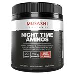 Musashi Night Time Aminos Fruit Punch 300g