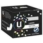 U by Kotex Cotton Liner 26 Pack
