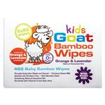 Goat Kids Bamboo Wipes Orange & Lavender 480 Pack