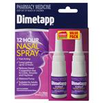 Dimetapp Adult 12 Hour Nasal Spray 40ml Exclusive Size