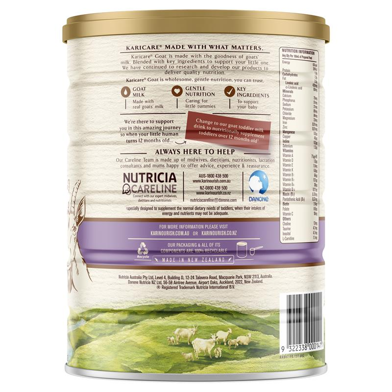 Buy Karicare+ Goats Milk Follow On Formula From 6 Months