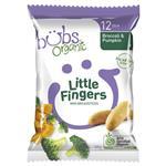 Bubs Organic Little Fingers Broccoli & Pumpkin 12 Months+ 30g