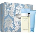 Dolce & Gabbana for Women Light Blue Eau de Toilette 100ml Spray 3 Piece Set with Rollerball