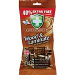 Green Shield Wood and Laminate Wipes 70 Pack