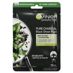Garnier Pure Charcoal Black Tea Sheet Mask