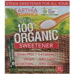 Sugarless Stevia 100% Natural Organic Sweetener Sticks 40 Pack
