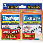 Clearwipe Lens Cleaner Twin Pack