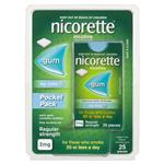Nicorette Gum 2mg Icy Mint Pocket Pack 25 Pieces