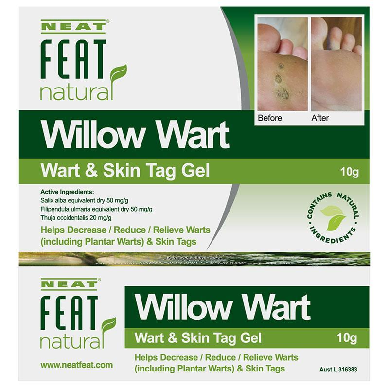Buy Neat Feat Natural Willow Wart Wart And Skin Tag Gel 10g Online