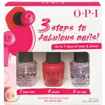 OPI 3 Steps To Fabulous Nails Big Apple Red Christmas Pack 2019