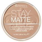 Rimmel Stay Matte Pressed Powder 010 Warm Honey