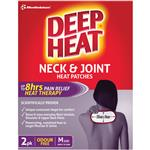 Deep Heat Neck & Joint Heat Patches 2 Pack