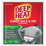 Deep Heat Lower Back & Hip Heating Belt 1 Pack