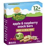Raffertys Garden 12+ Months Fruit Snack Bar Apple & Raspberry 128g