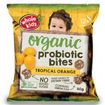 Whole Kids Organic Probiotic Bites Tropical Orange 40g