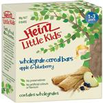 Heinz Little Kids Whole Grain Cereal Bars Apple Blackcurrent 6 Pack