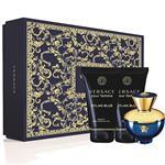 Versace Dylan Blue Pour Femme Eau De Parfum 50ml 3 Piece Set