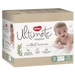 Huggies Ultimate Nappies Size 3 6-11kg Jumbo 72 Pack