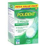 Polident 3 Minute Denture Cleanser 108 Tablets Exclusive Size