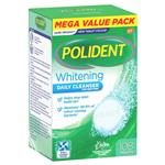 Polident Whitening Denture Cleanser 108 Tablets Exclusive Size