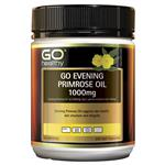 GO Healthy Evening Primose Oil 1000mg 200 Softgel Capsules Exclusive Size