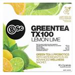 BSc Green Tea TX100 Lemon Lime 60 x 3g Serve
