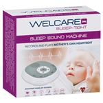 Sleep Sound Machine by Welcare (Plays Mothers Own Heartbeat) Online Only