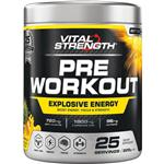 VitalStrength Pre Workout Powder Pineapple 225g