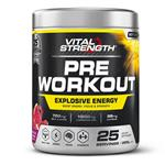 VitalStrength Pre Workout Powder Watermelon Smash 225g