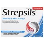 Strepsils Menthol And Mint 36 Lozenges