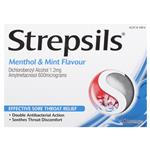 Strepsils Menthol And Mint 16 Lozenges