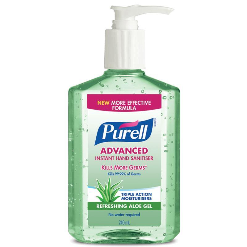 Buy Purell Advanced Instant Hand Sanitiser Refreshing Aloe Gel