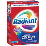Radiant Laundry Powder Mixed Colour Wash 2kg