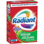 Radiant Laundry Powder Brilliant Whites Sharper Colours 2kg