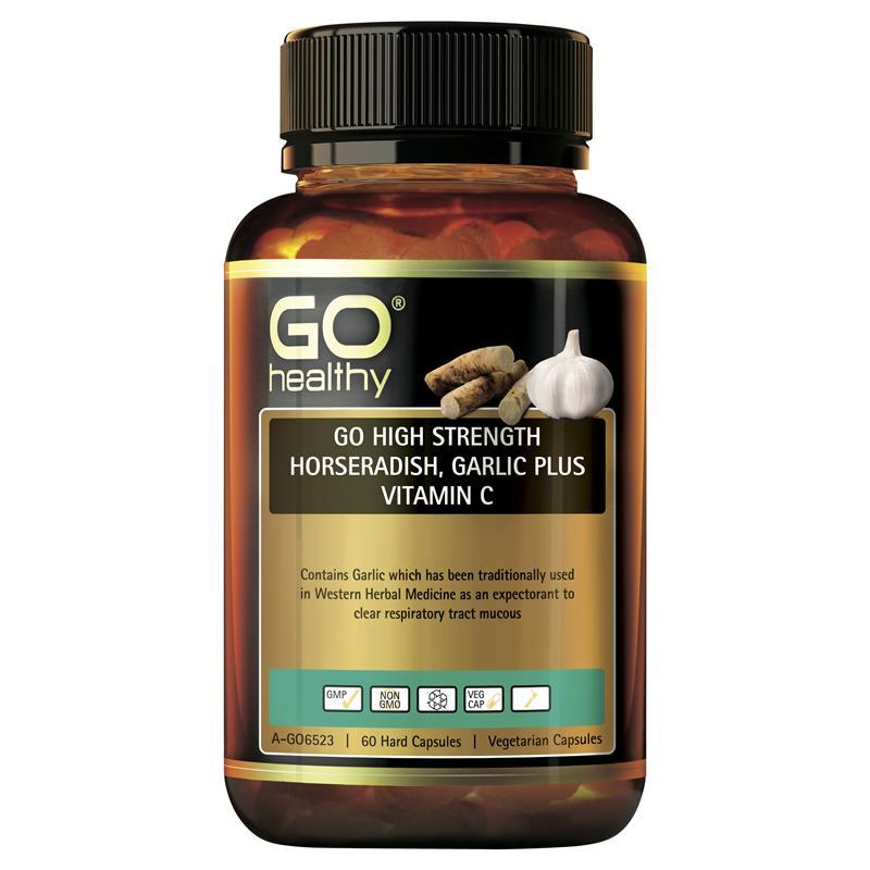 Buy GO Healthy High Strength Horseradish Garlic Plus ...