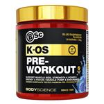 BSc K-OS Pre-Workout 180g Blue Raspberry