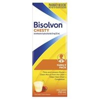Bisolvon Chesty Liquid 250ml