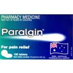Paralgin 500mg 100 Tablets