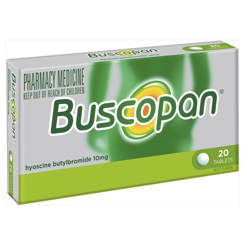 Buscopan Tablets 20 - ePharmacy