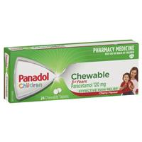 Panadol Child Chewable Tablets 24