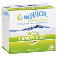 Movicol Powder Sachets 13g Lemon Lime 30