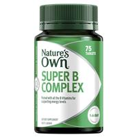 Nature's Own Super B Complex 75 Tablets