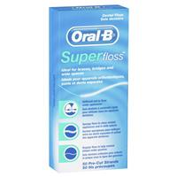 Oral B Superfloss Strips 50