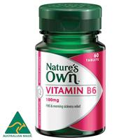 Nature's Own Vitamin B6 100mg 60 Tablets
