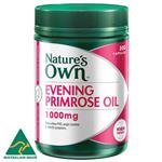 Nature's Own Evening Primrose Oil 1000mg 300 Capsules