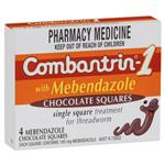 Combantrin -1 with Mebendazole Chocolate Squares 4