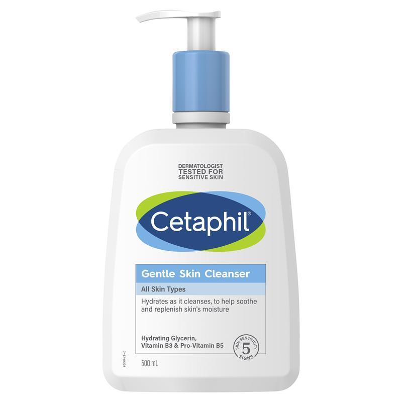 Pay Here Buy Here >> Buy Cetaphil Gentle Skin Cleanser 500ml Online at Chemist Warehouse®