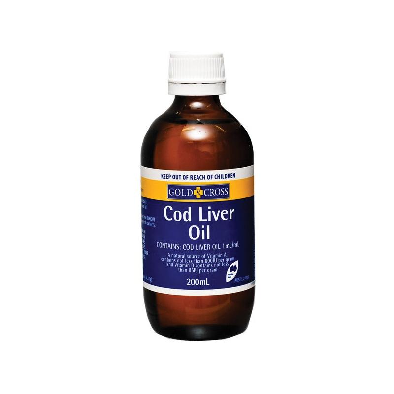 Cod Liver Oil 200ml Gold Cross Epharmacy
