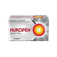 Nurofen Tablets Pain Relief 200mg Ibuprofen 96 Pack